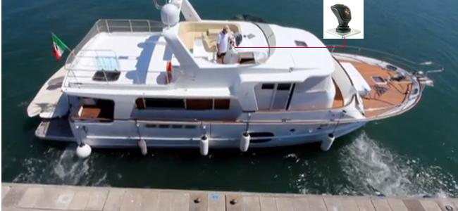 La barca trasla lateralmente col JCS Plus