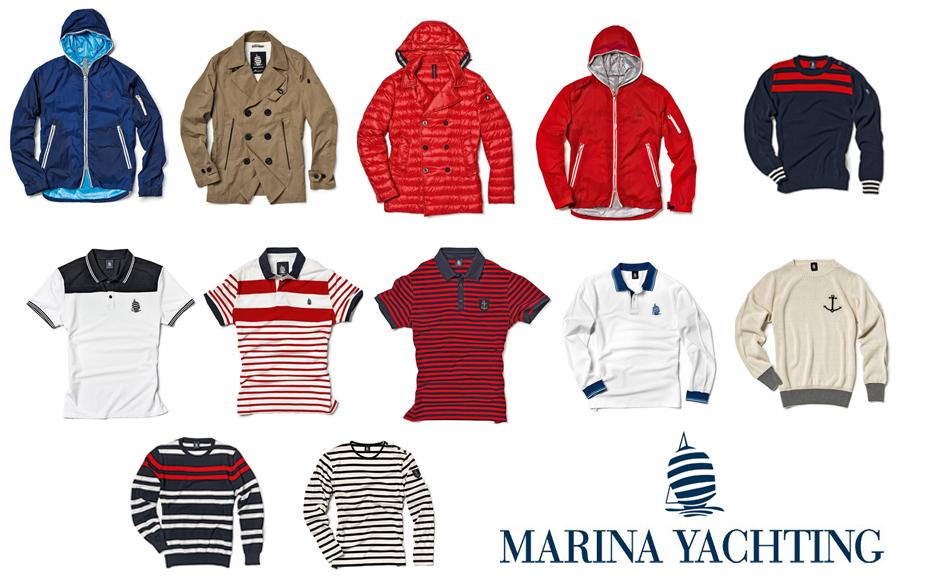 new concept 543eb 6d4a4 Marina Yachting, collezione uomo primavera/estate 2014