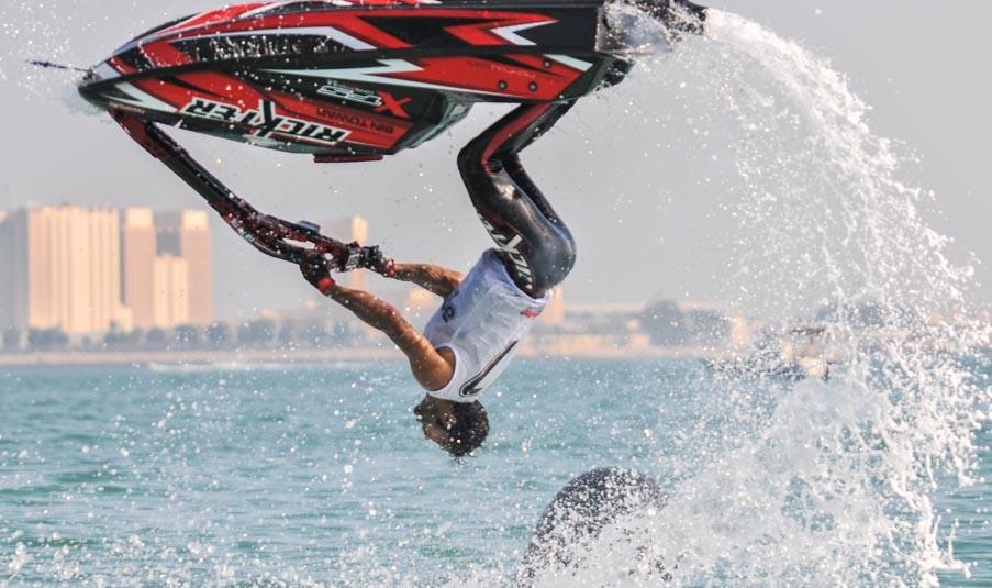 Aquabike world championship qatar