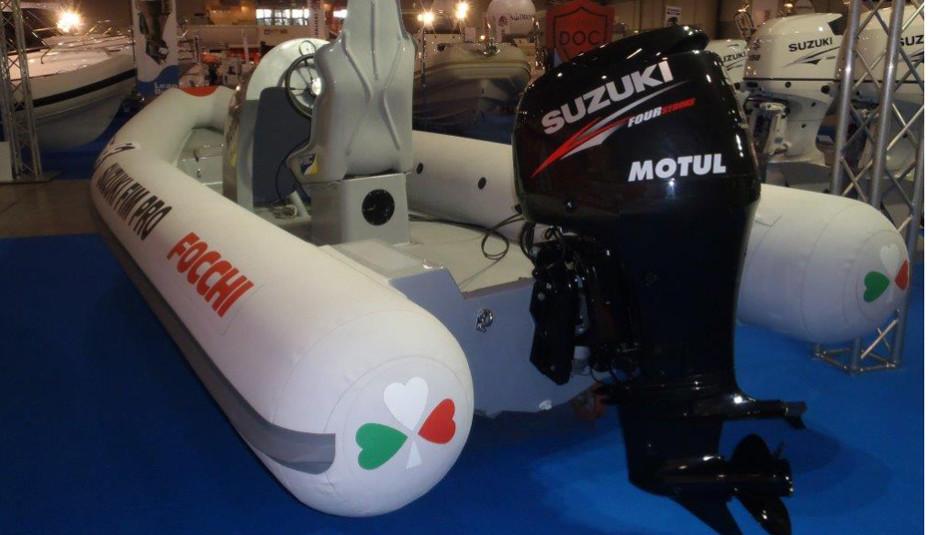 Focchi 535 Corse con Suzuki 90 cv per Campionato FIM PRO 1