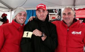 Alex Carella, Alessandro Canzi e Attilio Donzelli.