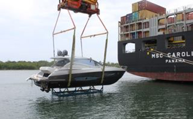 Rio Granturismo 56 arrivato a Miami 2
