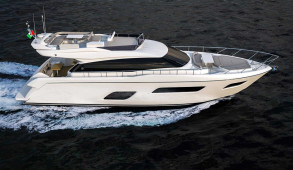Ferretti 550 Navigazione 2