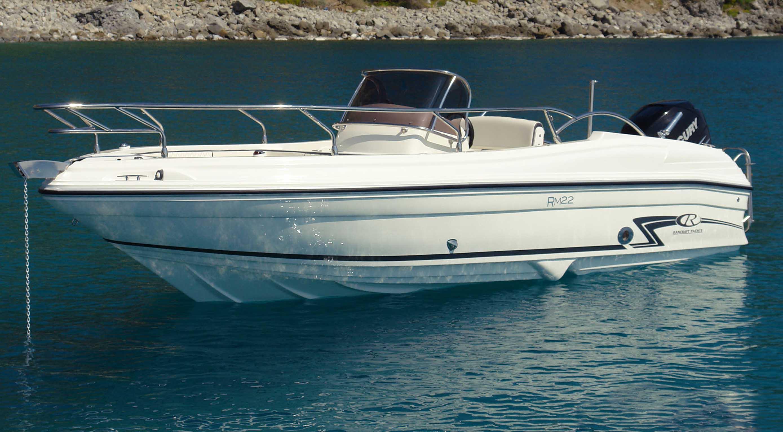 Rancraft rm 22 la barca scacciacrisi for Doccetta barca