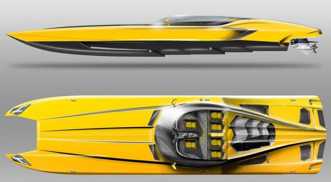 Lamborghini Offshore Raging Bull L Auto 232 Una Barca Da Corsa