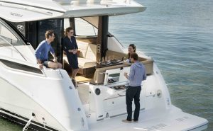 Sea Ray 400 Sundancer 400 Plancia