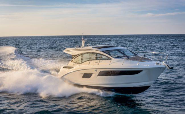 Sea Ray 400 Sundancer Navigazione 1