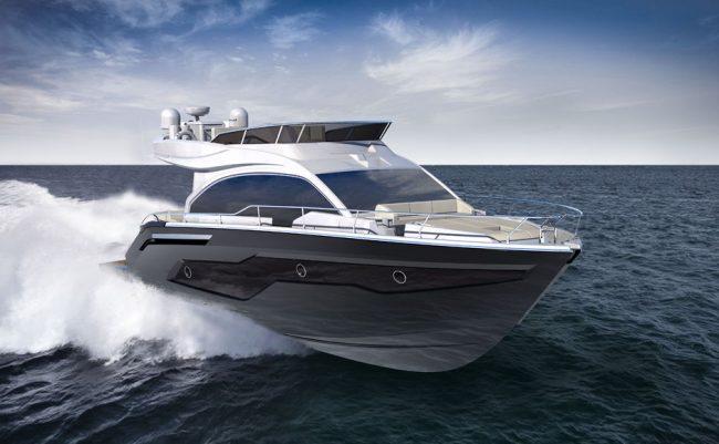 Cranchi E 52 F sea