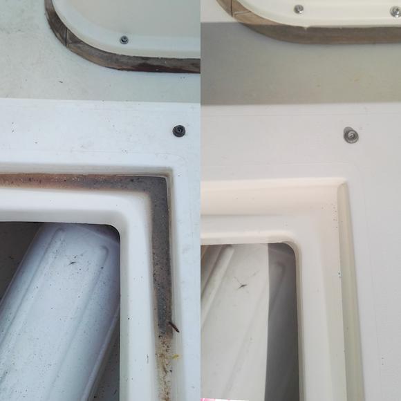 La pulizia della vetroresina della barca in 4 step…fondamentali