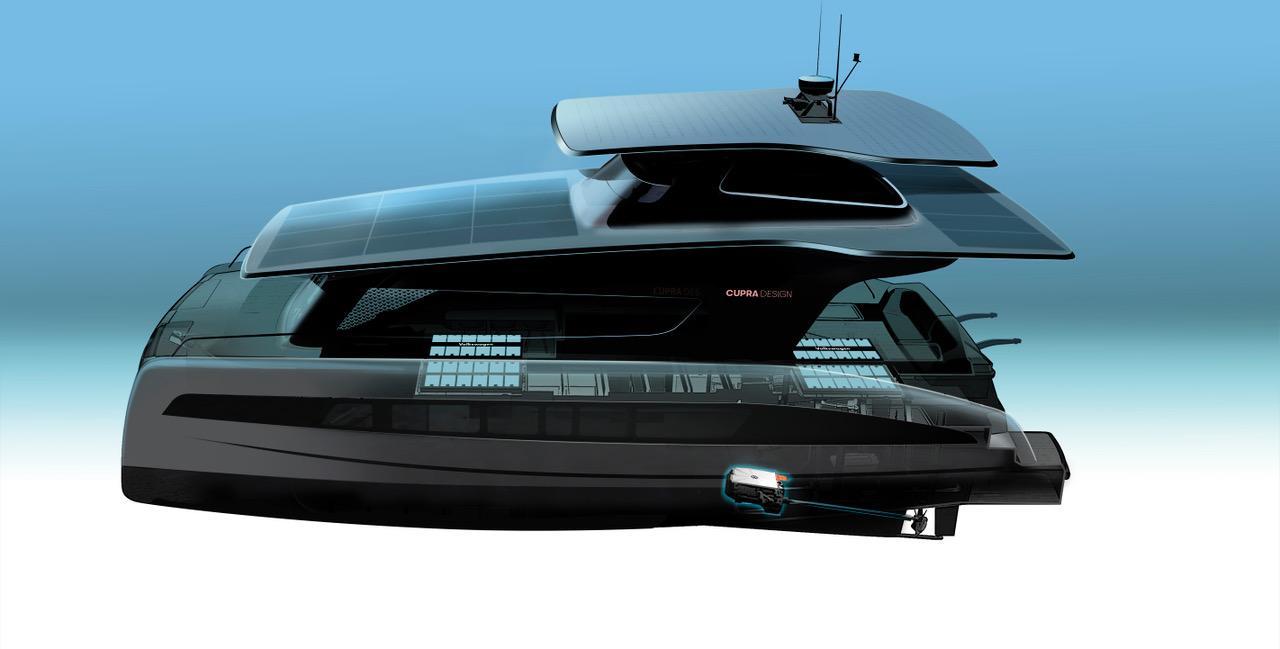 Silent Yachts catamarano elettrico