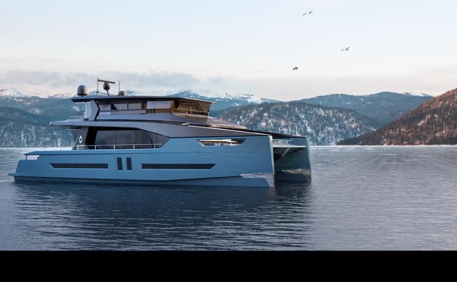 yacht elettrici catamarani alva green