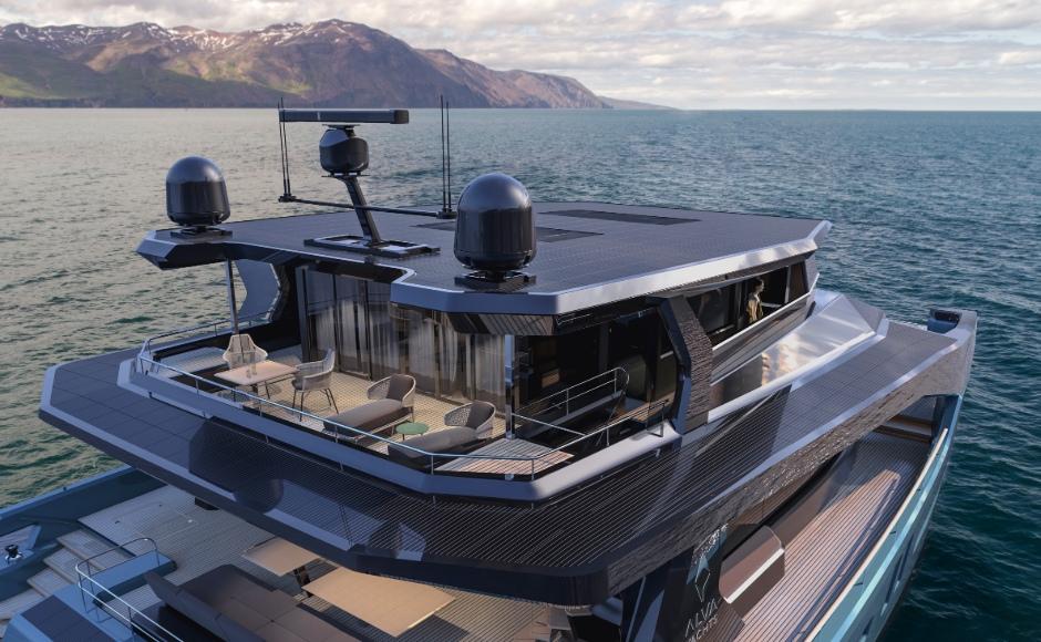 catamarano elettrico alva yachts ocean eco explorer