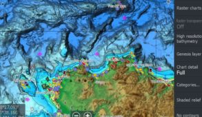 C-Map Discover & Reveal mappe Lowrance cartografia chartplotter