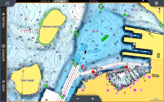 C-Map Discover & Reveal mappe Lowrane cartografia chartplotter