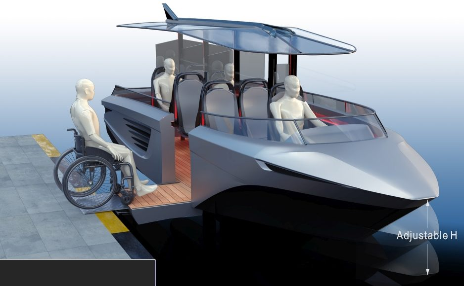 gerris gerrisboats disabili accessibilità sociale foil