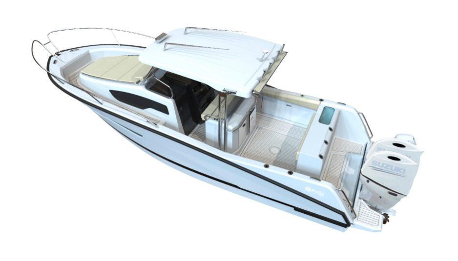 pyxis 30 WA fishing cruiser fisherman galeazzi
