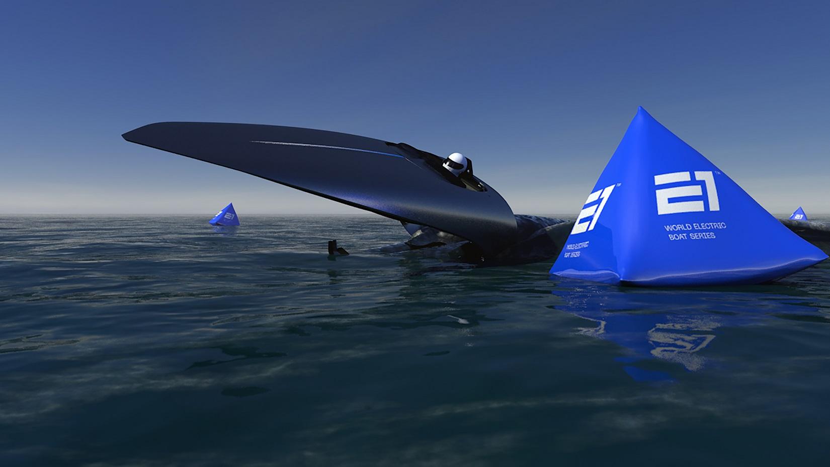 campionato elettrico E1 uIM World Electric Powerboat Victory RaceBird Acampora