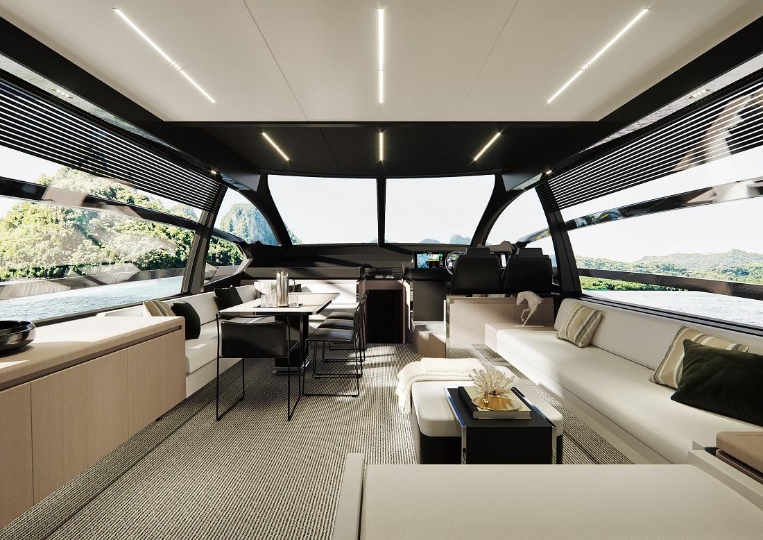 Riva 76' Perseo Super_owner cabin