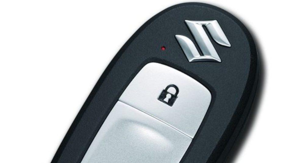 Suzuki Keyless Start System avviamento senza chiave