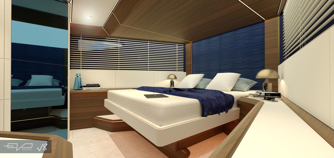 evo yachts velar v8 rivellini