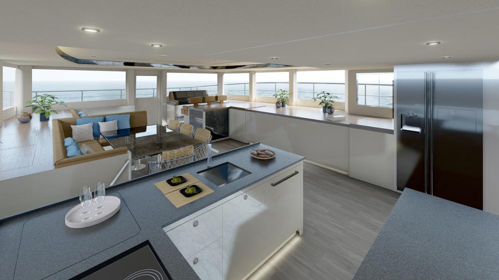 silent 62 tri deck vw catamarano elettrico jost