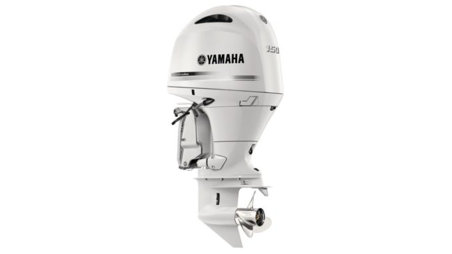 yamaha high power calandra bianco perla fuoribordo