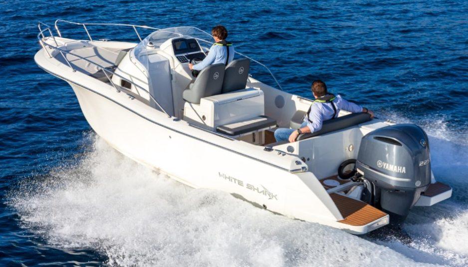 white shark yamaha partnership
